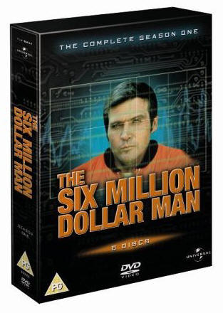 The Six Million Dollar Man The Complete Season One DVD