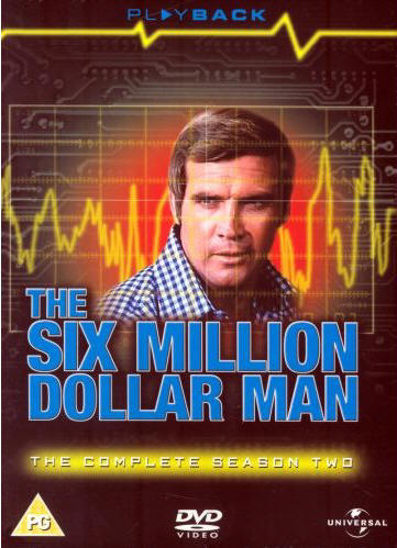 The Six Million Dollar Man The Complete Season Two DVD