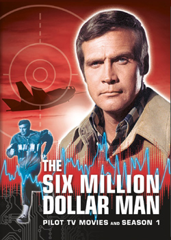 Martin E. Brooks The Six Million Dollar Man