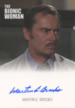 Martin E. Brooks Dr. Rudy Wells Bionic Trading Cards