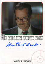 Martin E. Brooks Dr. Rudy Wells Bionic Trading Card